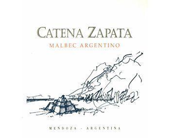 Catena 2008 Zapata Argentino Vineyard Malbec