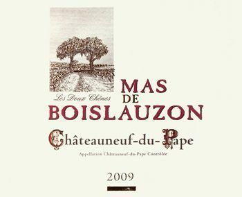 Mas de Boislauzon 2009 Châteauneuf-du-Pape Tradition Rouge
