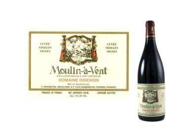 Diochon 2015 Moulin-à-Vent Cuvée Vieilles Vignes