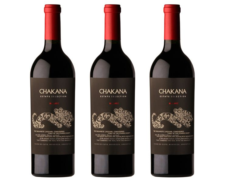 Chakana 3 Vintage Estate Selection Malbec Vertical
