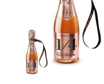 Nicolas Feuillatte ''One Four'' (1/4) Brut Rose NV 187ml