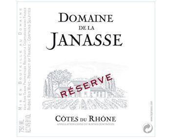 La Janasse Côtes du Rhône Reserve