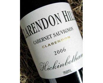 Clarendon Hills Hickinbotham Vineyard 2006 Cabernet Sauvignon