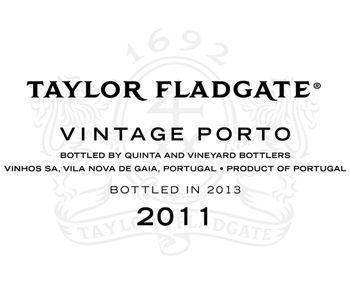 Taylor Fladgate 2011 Vintage Porto