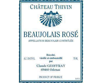 Château Thivin 2015 Beaujolais Villages Rosé