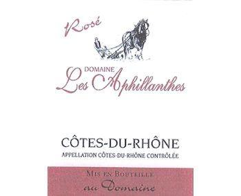 Domaine des Aphillanthes 2016 Côtes du Rhône Rosé