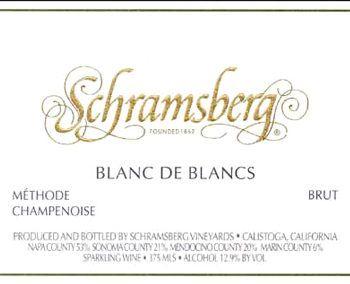 Schramsberg 2014 Blanc de Blancs