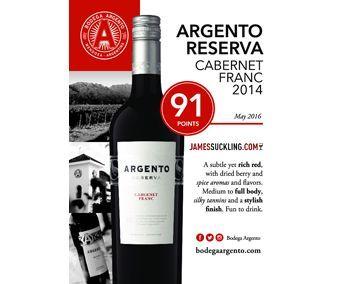 Argento 2014 Cabernet Franc Reserva