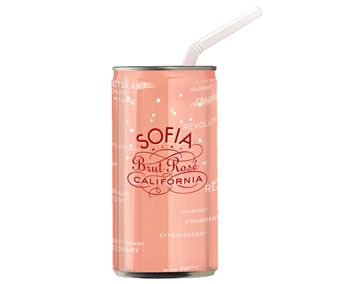 Francis Ford Coppola Winery Sofia Brut Rosé Mini-Single 187mL