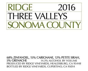 Ridge Three Valleys Red