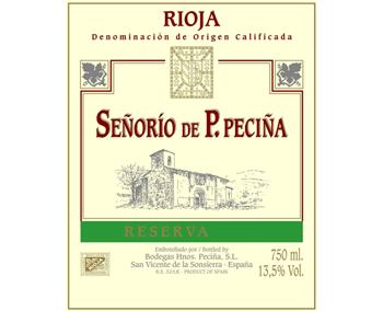 Hermanos 2011 Pecina Rioja
