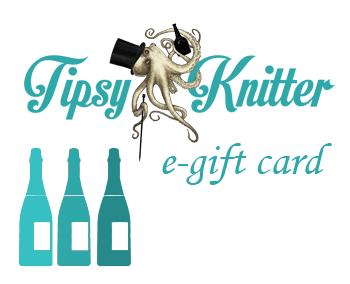 Tipsy Knitter Gift Card
