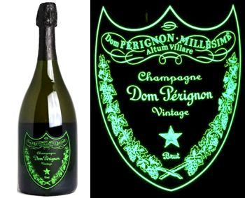 Dom Perignon 2009 Luminous Bottle