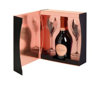 Laurent Pierre Cuvee Rose Set with 2 glasses