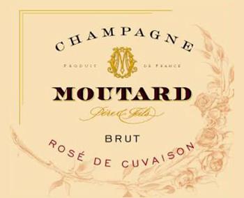 Champagne MoutardRosé Cuvaison Brut NV