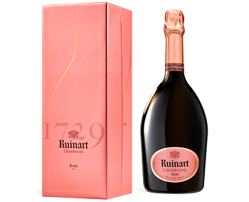 Ruinart Brut Rosé NV with Gift Box