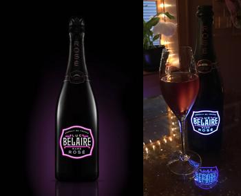 Luc Belaire Fantome Rare Sparkling Rosé NV