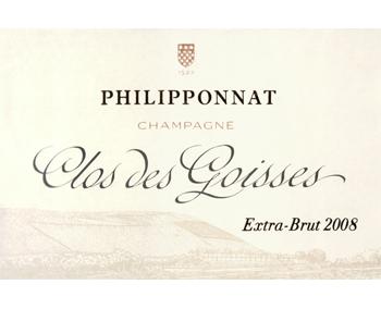 Philipponnat 2008 Clos des Goisses Extra Brut Champagne