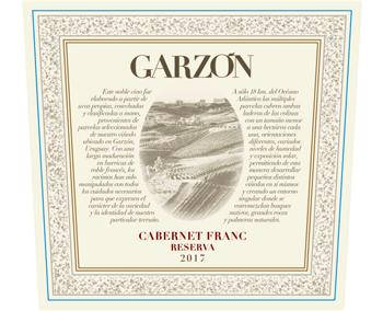 Bodega Garzón 2017 Cabernet Franc Reserva
