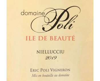 Domaine Poli 2019 Niellucciu Corsica
