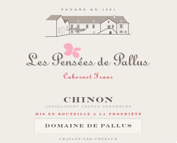 Domaine de Pallus 2014 Chinon Les Pensees de Pallus