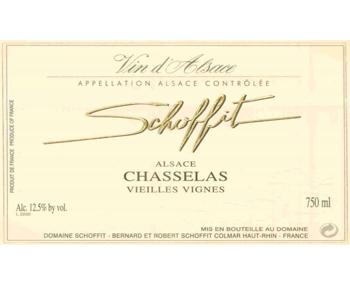 Schoffit 2016 Chasselas Vieilles Vignes