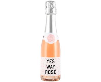 Yes Way, Rosé NV Bubbles · 187mL Bottle