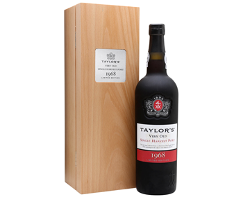 Taylor Fladgate 1968 Very Old Single Harvest Tawny Port