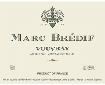 Marc Bredif 2018 Vouvray