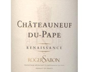 Sabon 2017 Chateauneuf-du-Pape Renaissance Blanc