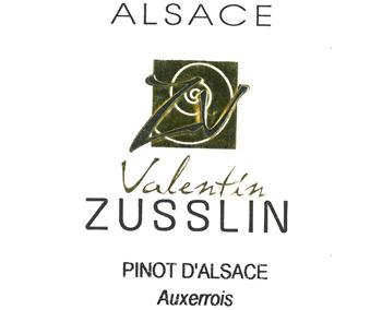 Zusslin 2015 Pinot d'Alsace Auxerrois