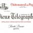 Vieux Télégraphe 2018 La Crau CdP Rouge 3L